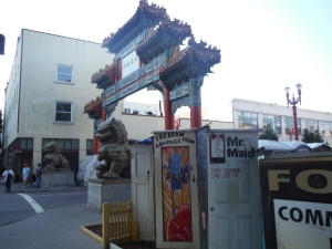Chinatown and Homeless Town in Portland