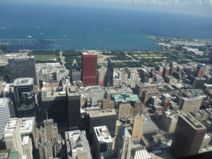 Chicago View from Skydeck