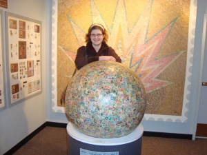 Touring Boys Town in the heart of Omaha, NE was a great experience made even better by seeing the World's Largest Ball of Stamps!