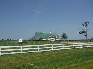 One of the best churches I've ever been to- The River in Delaware, Ohio is held in a converted barn!