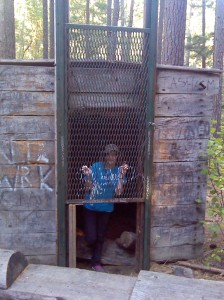 I was prisoner of the Bigfoot Trap!