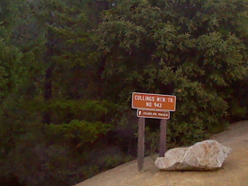 Collings Mountain Trailhead with Bigfoot Trap