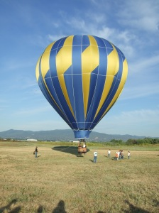 The balloon that I took a tethered ride on