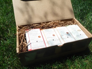 box of Traditional Medicinals herbal tea