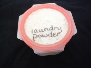 homemade laundry powder