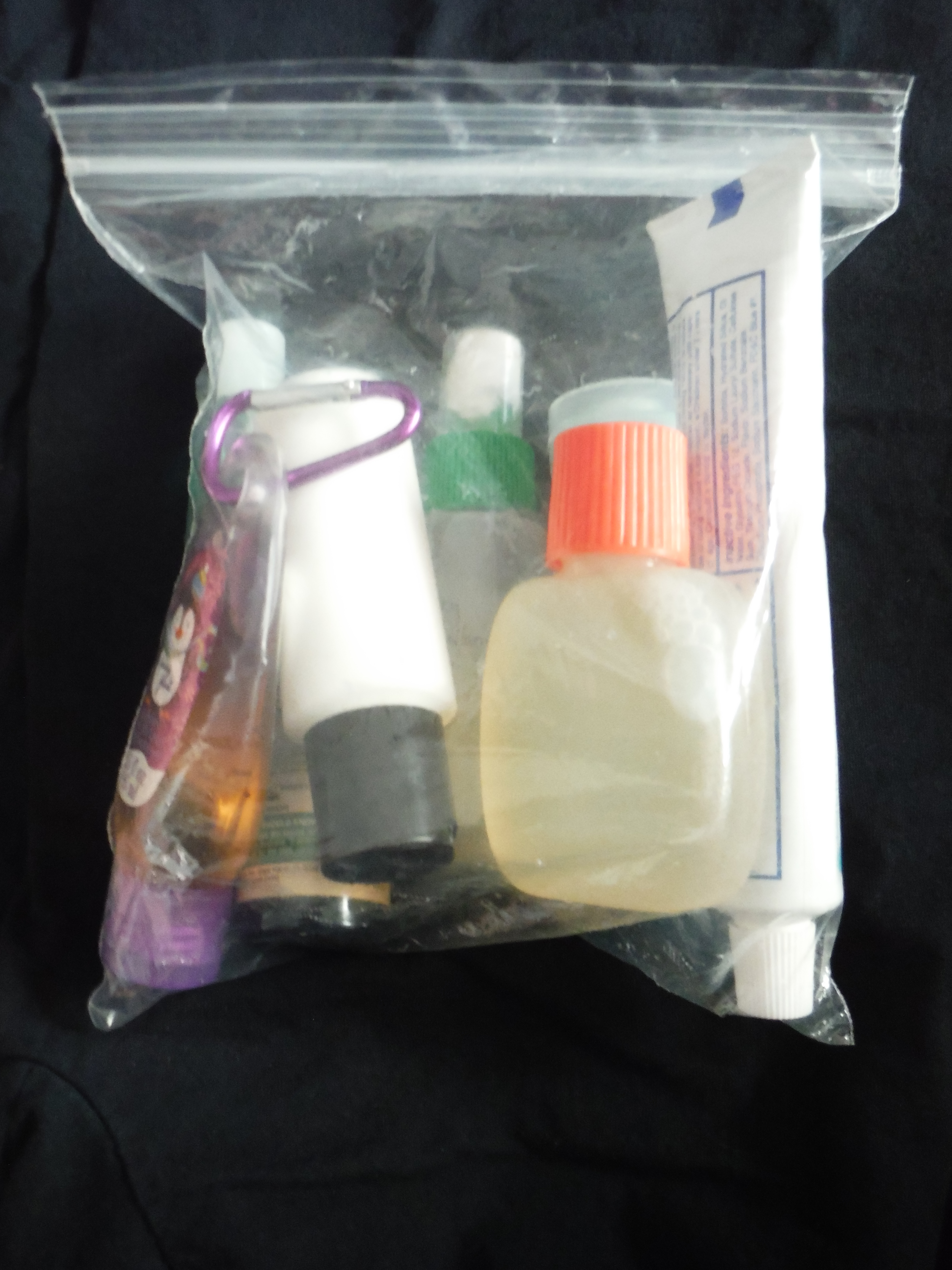 Carry On Toiletries Jessica Lippe