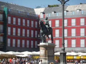 Horse Statue Madrid