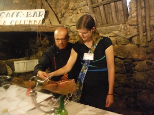 Ham Cutting La Alberca