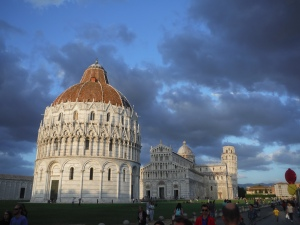 Pisa Baptistery Church Tower