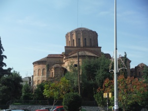 Leaning Church Thessaloniki