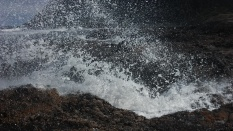 A beautiful blowhole by the name of Thor's Well.