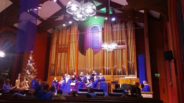 December 2017: Christmas Eve Church Tour