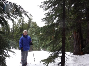 November 2017: Crater Lake Snowshoeing