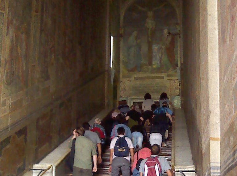 scala sancta rome italy