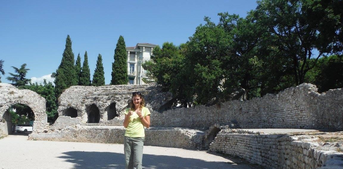 Nice France ruins
