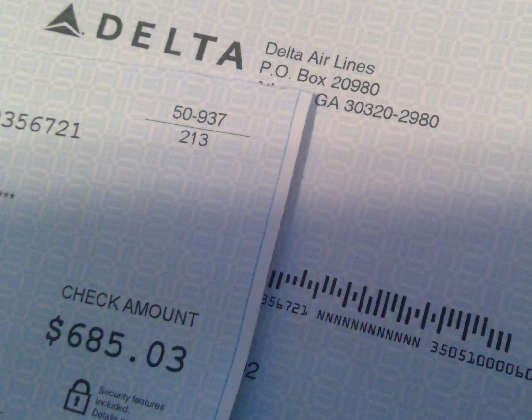 EU Flight Delay Payout from Delta